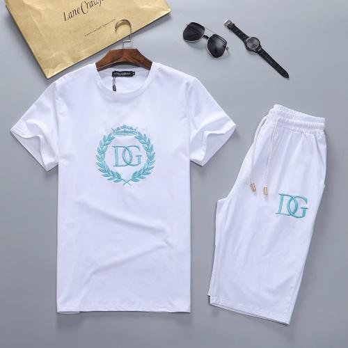 Dolce & Gabbana D&G Tracksuits Short Sleeved For Men #870437