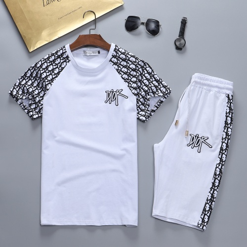 Christian Dior Tracksuits Short Sleeved For Men #870467