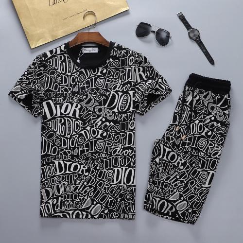 Christian Dior Tracksuits Short Sleeved For Men #870473