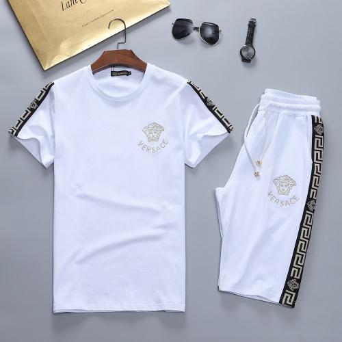 Versace Tracksuits Short Sleeved For Men #870477