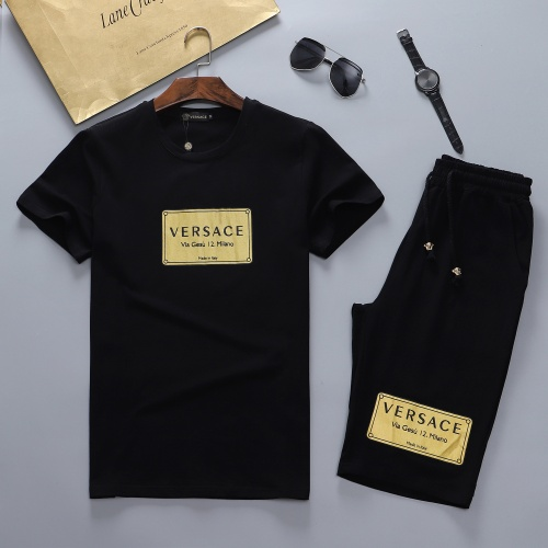 Versace Tracksuits Short Sleeved For Men #870484