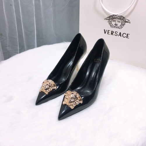 Versace High-Heeled Shoes For Women #870528