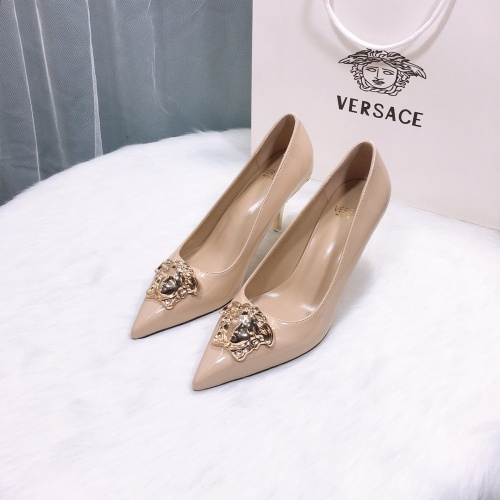 Versace High-Heeled Shoes For Women #870529