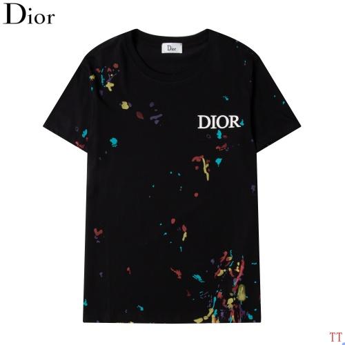 Christian Dior T-Shirts Short Sleeved For Men #870543