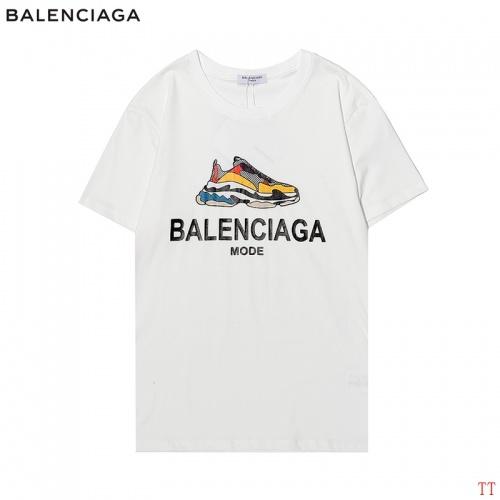 Balenciaga T-Shirts Short Sleeved For Men #870581