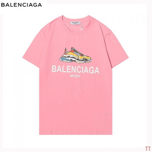 Balenciaga T-Shirts Short Sleeved For Men #870582