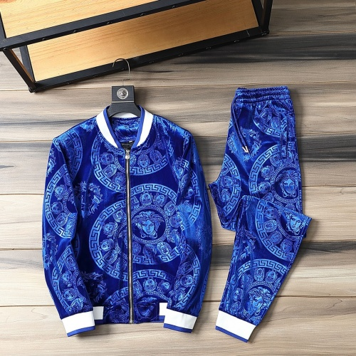 Versace Tracksuits Long Sleeved For Men #870833