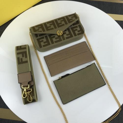 Fendi AAA Messenger Bags For Women #870867
