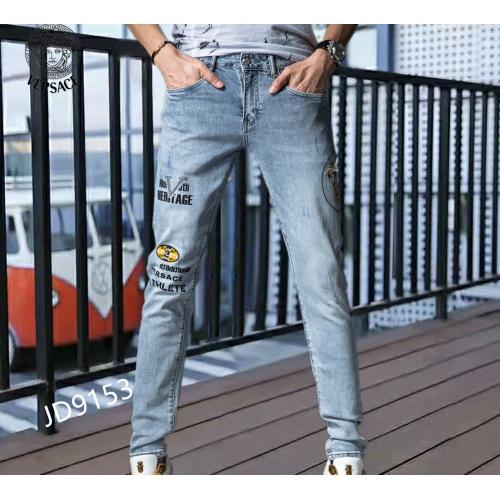Versace Jeans For Men #870990 $48.00 USD, Wholesale Replica Versace Jeans