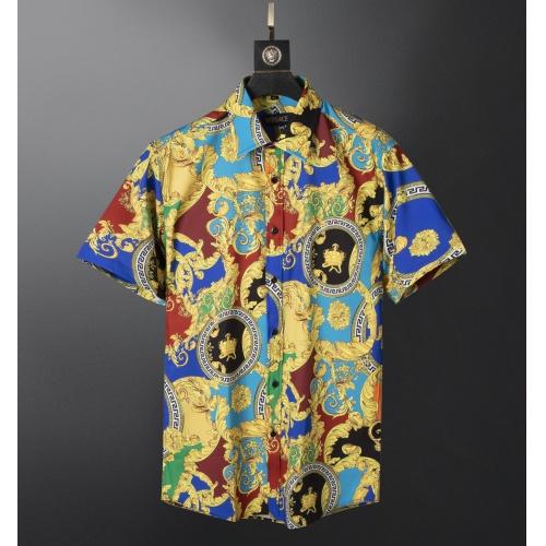 Versace Shirts Short Sleeved For Men #871016
