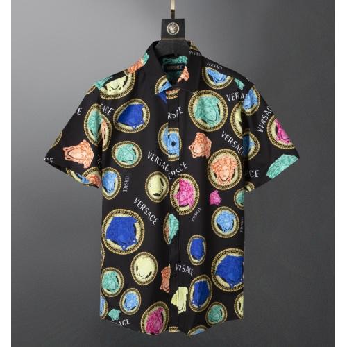 Versace Shirts Short Sleeved For Men #871017