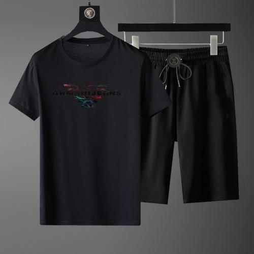 Armani Tracksuits Short Sleeved For Men #871068