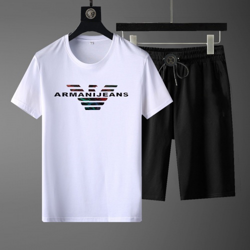 Armani Tracksuits Short Sleeved For Men #871069