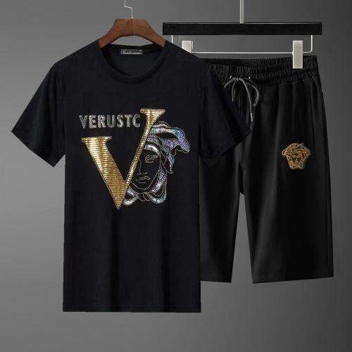 Versace Tracksuits Short Sleeved For Men #871083