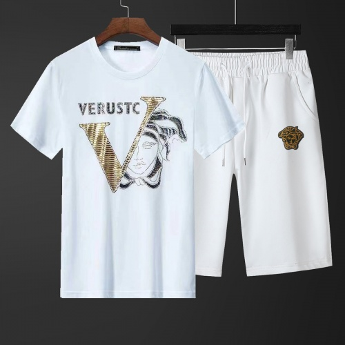 Versace Tracksuits Short Sleeved For Men #871086