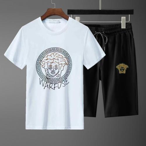 Versace Tracksuits Short Sleeved For Men #871094