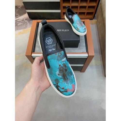 Replica Philipp Plein Shoes For Men #871163 $76.00 USD for Wholesale