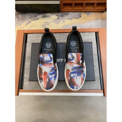 Replica Philipp Plein Shoes For Men #871166 $76.00 USD for Wholesale