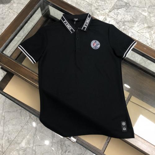 Fendi T-Shirts Short Sleeved For Men #871294