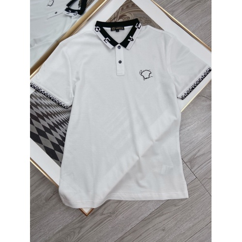 Versace T-Shirts Short Sleeved For Men #871311 $42.00 USD, Wholesale Replica Versace T-Shirts