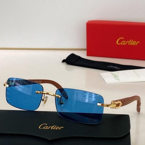 Cartier AAA Quality Sunglasses #871328