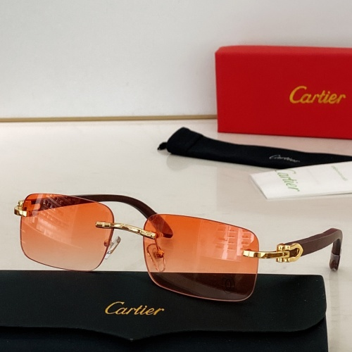 Cartier AAA Quality Sunglasses #871329