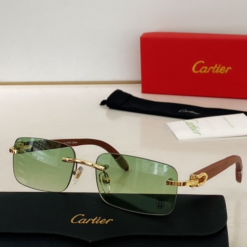Cartier AAA Quality Sunglasses #871330