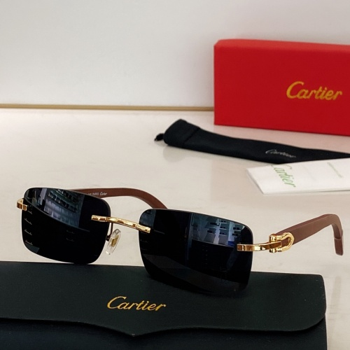 Cartier AAA Quality Sunglasses #871331