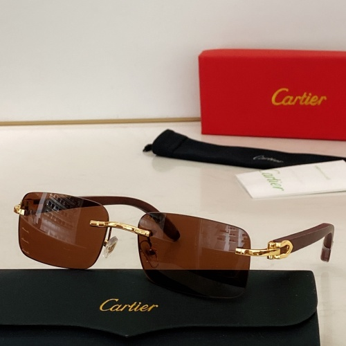 Cartier AAA Quality Sunglasses #871332