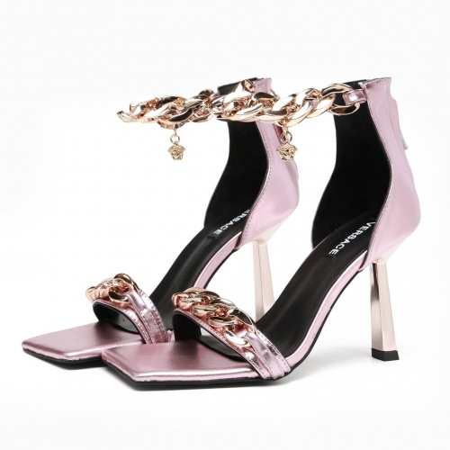 Versace High-Heeled Shoes For Women #871370