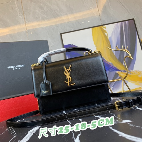 Yves Saint Laurent YSL AAA Messenger Bags For Women #871376