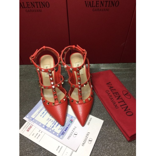 Valentino High-Heeled Shoes For Women #871407