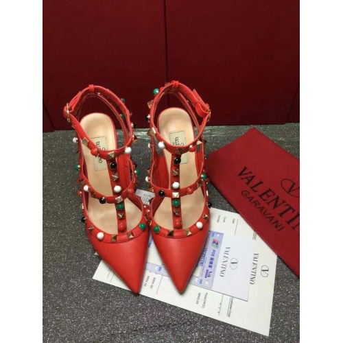 Valentino High-Heeled Shoes For Women #871411