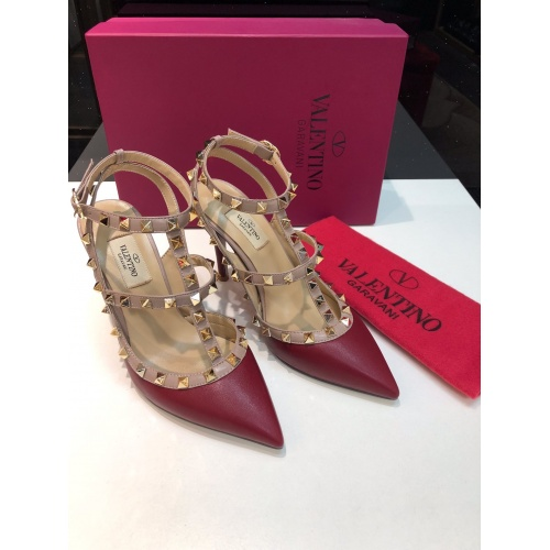 Valentino High-Heeled Shoes For Women #871431