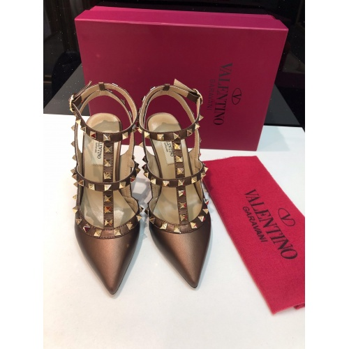 Valentino High-Heeled Shoes For Women #871445