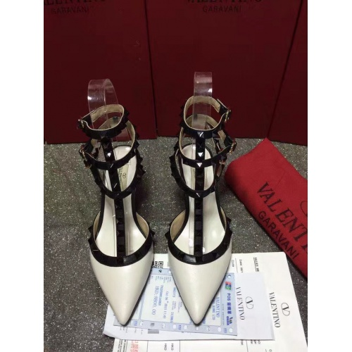 Valentino High-Heeled Shoes For Women #871459 $85.00 USD, Wholesale Replica Valentino High-Heeled Shoes