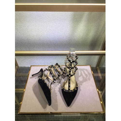 Replica Valentino High-Heeled Shoes For Women #871463 $85.00 USD for Wholesale