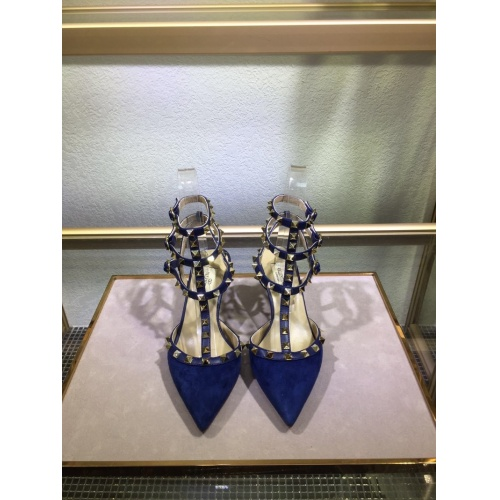 Valentino High-Heeled Shoes For Women #871464 $85.00 USD, Wholesale Replica Valentino High-Heeled Shoes