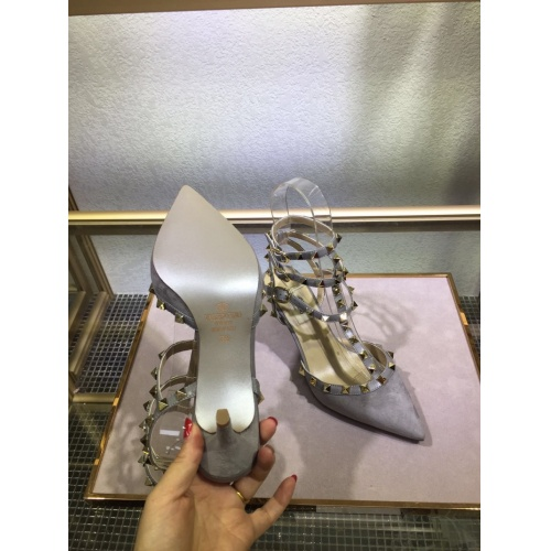 Replica Valentino High-Heeled Shoes For Women #871466 $85.00 USD for Wholesale