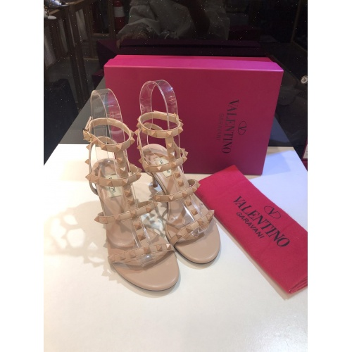 Valentino High-Heeled Shoes For Women #871467 $85.00 USD, Wholesale Replica Valentino High-Heeled Shoes