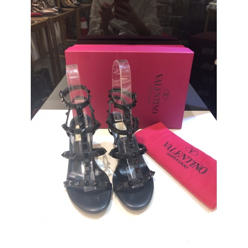 Valentino High-Heeled Shoes For Women #871468 $85.00 USD, Wholesale Replica Valentino High-Heeled Shoes
