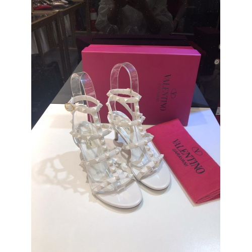 Valentino High-Heeled Shoes For Women #871469 $85.00 USD, Wholesale Replica Valentino High-Heeled Shoes