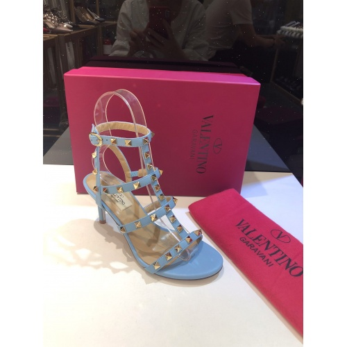 Valentino High-Heeled Shoes For Women #871475 $85.00 USD, Wholesale Replica Valentino High-Heeled Shoes