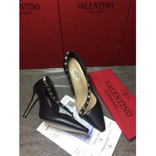 Replica Valentino High-Heeled Shoes For Women #871476 $85.00 USD for Wholesale