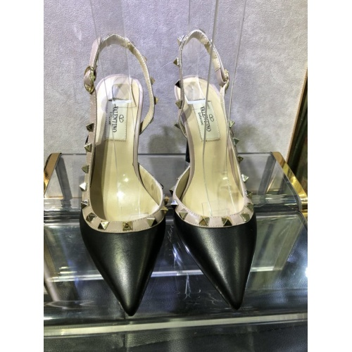 Valentino High-Heeled Shoes For Women #871479 $85.00 USD, Wholesale Replica Valentino High-Heeled Shoes