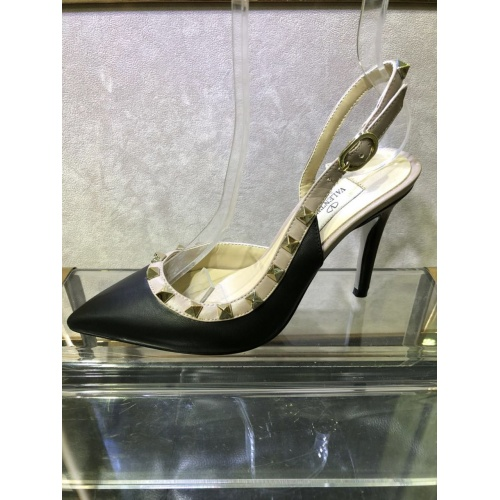 Replica Valentino High-Heeled Shoes For Women #871479 $85.00 USD for Wholesale