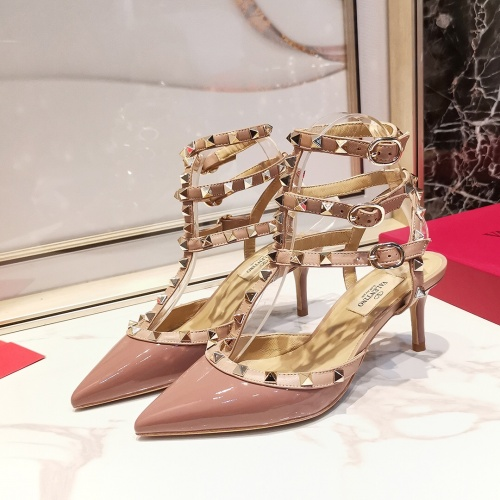 Valentino High-Heeled Shoes For Women #871496 $85.00 USD, Wholesale Replica Valentino High-Heeled Shoes