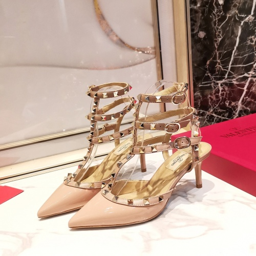 Valentino High-Heeled Shoes For Women #871498 $85.00 USD, Wholesale Replica Valentino High-Heeled Shoes