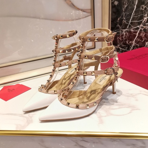 Valentino High-Heeled Shoes For Women #871501 $85.00 USD, Wholesale Replica Valentino High-Heeled Shoes