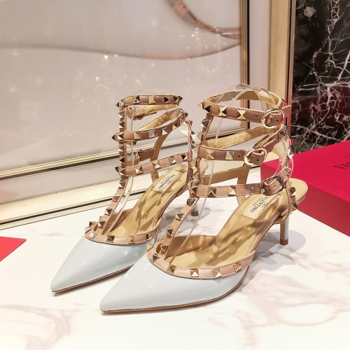 Valentino High-Heeled Shoes For Women #871502 $85.00 USD, Wholesale Replica Valentino High-Heeled Shoes